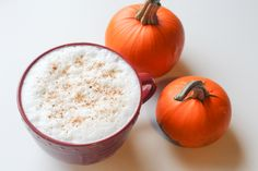 Homemade Maple Pumpkin Latte | Easy and Healthy version of the PSL!