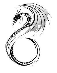 Afbeeldingsresultaat voor tekening chinese draak
