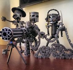Kreative moderne Metallskulpturen-7