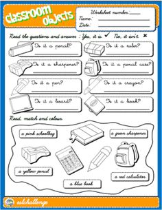Picture English Games, Kids English, English Class, English Teaching Resources, Esl Resources, Activity Games, Activities, Picture Dictionary, Self Assessment