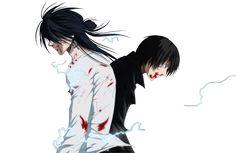 Hitomi and Ogami - Code:Breaker Me Me Me Anime, Anime Guys, Manga Anime, Martial, Character Inspiration, Character Design, Code Breaker, Fanart, Anime Crossover