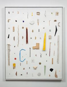 Noam Rappaport - Work (Objects that represent Brown in clusters, like I was excavating Brown)