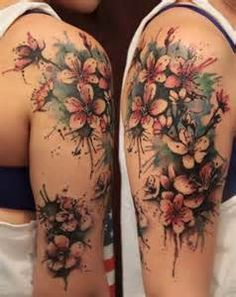 floral sleeve tattoos for women - Bing Images