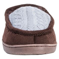 Men's Muk Luks Henry Loafer Slippers - Chocolate (Brown) L(12-13), Size: L (12-13)