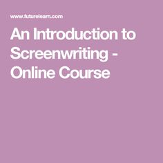 Introduction to Screenwriting - Free Online Course - FutureLearn Design Thinking Process, Movie Scripts, Bearded Collie, Group Work, Tantra, Screenwriting, Online Courses, Magic, Dog