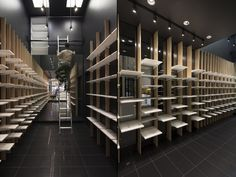 PEDICA – Cobbler + comfort shoe store by ABNORM studio, Montreal – Canada » Retail Design Blog