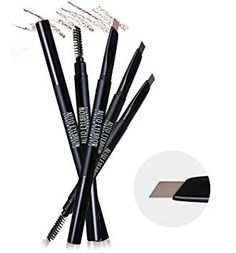 [Lioele] 2016 Auto Eyebrow Gray Black -- Details can be found by clicking on the image. (This is an affiliate link) Eyelash Glue, Eyelash Curler, How To Color Eyebrows, Natural Brown, Mascara, Eye Makeup, Cosmetics, Grey, Black