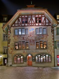 Rathskeller Olten, Switzerland If you go, tell Roger I said Hi Swiss Switzerland, Visit Switzerland, Basel, Old World Charm, Cool Places To Visit, Germany, Beauty Art, Homeland, Austria
