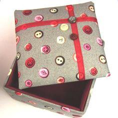 Make a Small Padded Trinket Box Kit
