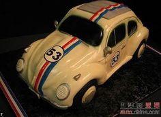 VW Bug Sports Car Cake