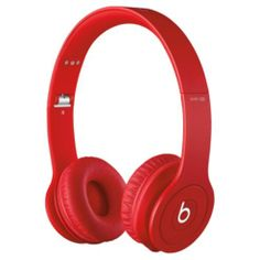 Beats by Dr Dre Solo HD Headphones Monochromatic - Red