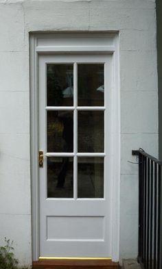 Georgian rear door - Cotswood Doors