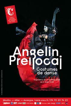 Exposition Angelin Prellocaj - Costumes de danse -Octobre 2015/Mars 2016 - Centre national du costume de scène - Moulins (Allier)