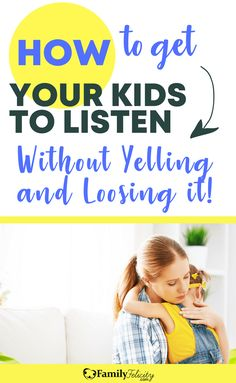 Find yourself yelling and loosing your temper more often that you'd like? Try these simple parenting tips to help you get your kids to listen the first time! #Parenting
