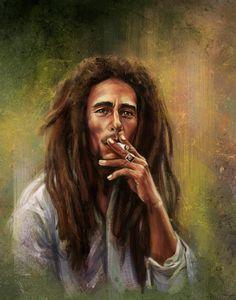 Bob Marley Painting, Bob Marley Art, Bob Marley Lion, Bob Marley Pictures, Damian Marley, Reggae Artists, Robert Nesta, Nesta Marley, Music Wall Art