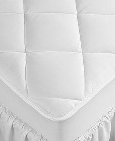 Hotel Collection 500 Thread Count Cotton Full Mattress Pad - Mattress Pads & Toppers - Bed & Bath - Macy's