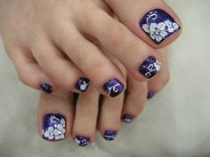 purple nail designs - Google Search