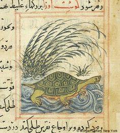 Bestiary Iran, Maragheh, 1297-1298 or 1299-1300,