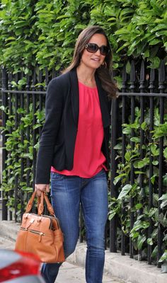 pippa pink top and blazer