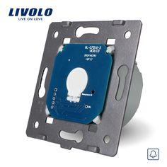 Livolo Manufacturer  EU Standard,110~250V  The Base Of Touch Screen Wall Door Bell Switch,  VL-C701B