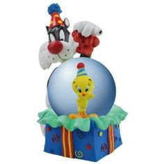 45mm Globe Tweety Bird And Sylvester Birthday Surprise Figurine by StealStreet. $28.25. This gorgeous 45mm Globe Tweety Bird And Sylvester Birthday Surprise Figurine has the finest details and highest quality you will find anywhere! 45mm Globe Tweety Bird And Sylvester Birthday Surprise Figurine is truly remarkable.45mm Globe Tweety Bird And Sylvester Birthday Surprise Figurine Details:Condition: Brand NewItem SKU: SS-WL-13985Dimensions: Statue: H: 45 (mm)Crafte...