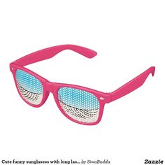 Cute funny sunglasess with long lashes