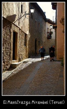 El Maestrazgo. Mirambel (Teruel) by vicente vicente, via Flickr