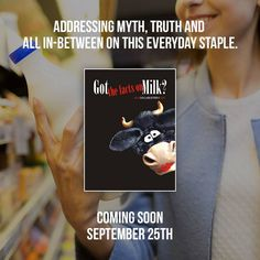 """Coming soon to FMTV!  Got the facts on Milk? Also known as """"The Milk Documentary"""" is an entertaining, award winning feature documentary that dares to question the conventional wisdom of the much-publicized health benefits of milk and dairy products.  View the trailer here: https://www.fmtv.com/watch/got-the-facts-on-milk"""