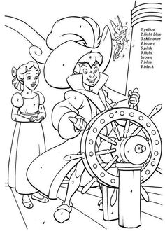 46 Peter Pan printable coloring pages for kids. Find on coloring-book thousands of coloring pages. Disney Coloring Sheets, Disney Princess Coloring Pages, Disney Princess Colors, Disney Colors, Peter Pan Coloring Pages, Coloring Pages For Boys, Cartoon Coloring Pages, Coloring Book Pages, Peter Pan Desenho
