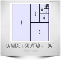 LA MITAD + SU MITAD +... DA 1