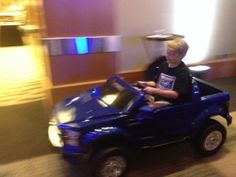Ford and Fisher Price have teamed to create the Ford F-150 for your child to drive - how fun! See more at flblogcon.com