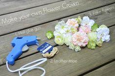 Flower Crown DIY Tutorial by McKenna Bleu