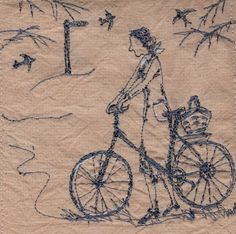 'Betty sees that spring is just around the corner'  The Swallows will soon be arriving. XX