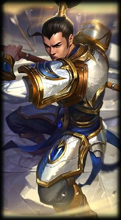 League of Legends- Xin Zhao, the Seneschal of Demacia. Champions League Of Legends, Lol Champions, League Of Legends Characters, Lol League Of Legends, Fictional Characters, Avatar, Xin Zhao, Riot Games, Sword And Sorcery