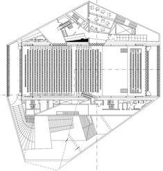 Intéressantes, ces théories urbanistiques et architecturales de Rem Koolhaas Rem Koolhaas, School Architecture, Architecture Plan, Auditorium Plan, Architectural Association, Portugal, Florence Tuscany, Concert Hall, Plan Design