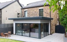 House Extension Ireland, House Extension Plans, House Extension Design, Extension Designs, Roof Extension, Extension Ideas, Garden Room Extensions, House Extensions, Stone Cottage Homes
