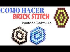 Best Seed Bead Jewelry 2017 Learn How to use Brick Stitch technique with Delica Seed Bead Jewelry, Seed Bead Earrings, Seed Beads, Beaded Jewelry, Brick Stitch Tutorial, Peyote Stitch Tutorial, Seed Bead Tutorials, Beading Tutorials, Beading Ideas