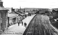 St Mary Cray station Local History, Family History, Railroad Tracks, Saints, Mary, House, Ideas, Home, Thoughts