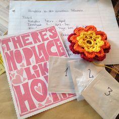 Gerade habe ich Post von meinem Blumenwichtel bekommen! Soooo schön!  Vielen Dank!