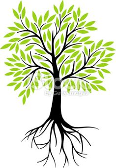 Tree Roots Illustration Life Ideas For 2019 Tree With Roots Drawing, Fabric Wall Decor, Geometric Trees, Illustration Blume, Tree Artwork, Tree Logos, Church Banners, Tree Quilt, Tree Silhouette
