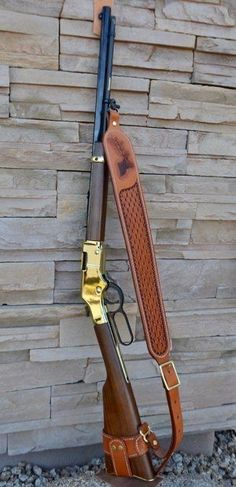 Rifle Sling, Rifle Bag, Henry Rifles, Custom Leather Holsters, Western Holsters, Lever Action Rifles, Fire Powers, Gun Holster, Military Guns