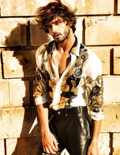 Marlon Teixeira in Harper's Bazaar China