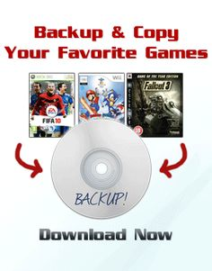 Game Backup System V2.0  GameBackupSystem is a complete solution  that includes special software and tutorials to making perfect copies & backups of your games. You can use GBS to make a 1:1 copy of  virtually any game, on all of the most popular  consoles, including the Xbox360, Nintendo Wii,