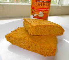 Sarah created a pumpkin coconut protein bar by revamping my pumpkin protein bar recipe and managed to boost the protein content. I can't wait to try them!