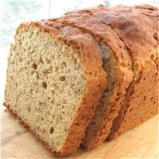 """Homemade bread I'd like to try for our new """"Real Food"""" challenge.  I'll sub honey for the sugar."""