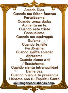 Motivational Quotes For Working Out, Inspirational Quotes, Catholic Prayers In Spanish, Marriage Prayer, Beautiful Prayers, God Prayer, Prayer Scriptures, Good Morning Good Night, God Loves You