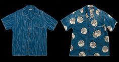 Kapital Aloha Lawn Hands Rain Wabash Indigo Shirts - http://hddls.co/29MxrFe
