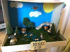 Fox Habitat Fox Habitat, School Projects, Diy Projects, Science Fair, Habitats, Project Ideas, Learning, Girls, Fun