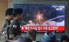 North Korea fires ballistic missile ahead of G20 summit