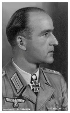 ✠ Fritz Feßmann (25 December 1913 - 11 October 1944) Killed in action near Tilsit/East Prussia. RK 27.10.1941 Leutnant d.R. Zugführer i. d. 1./Pz.Aufkl.Abt 7 4. Panzer-Division [170. EL] 04.01.1943 as Oberleutnant d.R., Chef 1./KradSchtzBtl 64 [103. Sw] 23.10.1944 Hauptmann d.R. Kdr Pz.Aufkl.Abt 5 5. Panzer – Division